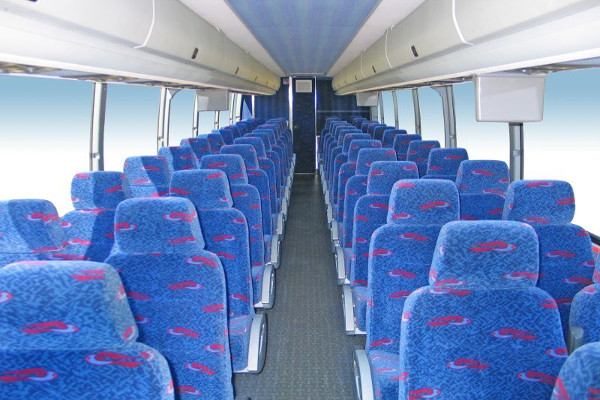 50 person charter bus rental Greensboro